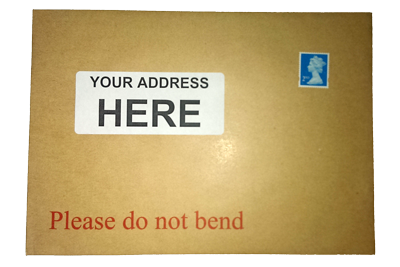 board-backed envelope